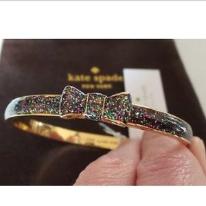 SALE🎉Take a bow Kate spade glitter bangle